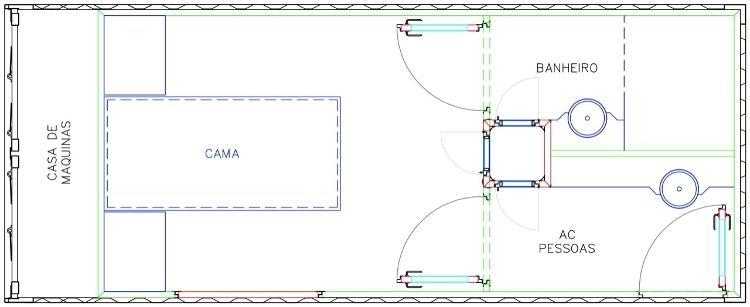 Plano de tanque de ar-UTI desenvolvido pela startup The Cube - Press Release / Cube