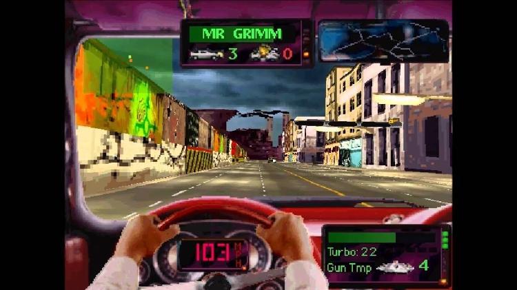 Twisted Metal foi o destaque do Playstation naquele ano - Reprodução
