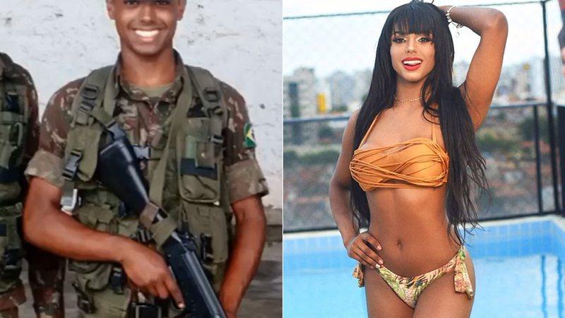 Bianca Nunes resolveu entrar para o exército depois de ouvir que não conseguiria