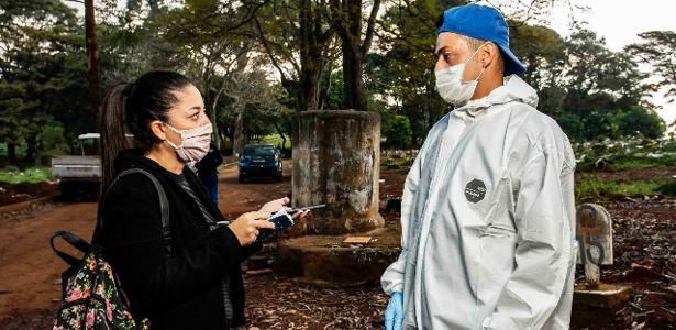 Dia no maior cemitério da América Latina: morte fria e sem perdão - 27.05.2020