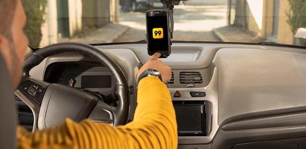 99 motoristas terão que provar que usam máscara, temperatura corporal e limpeza de automóveis 20/05/2020