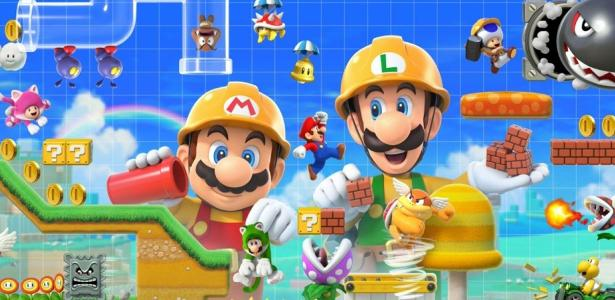 "Destaques: ""Super Mario Maker 2"" e ""Crash Team Racing"" Shake de junho a 06 de junho de 2019."