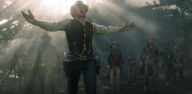 Já está ampliando? O jogo Red Dead Redemption é um novo queridinho na reunião online - 22.05.2020