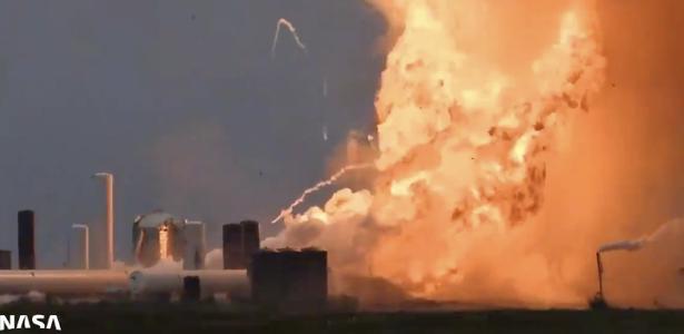 O foguete SpaceX explode em testes e se transforma em uma bola de fogo; assista ao vídeo - 29.05.2020
