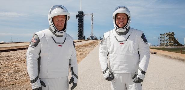 Quem são os astronautas da NASA (e melhores amigos) que vão para o espaço na espaçonave SpaceX - 30.05.2020