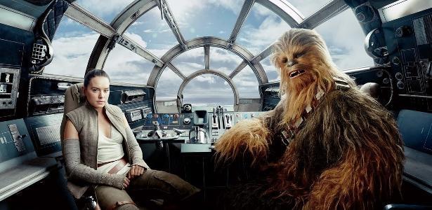 'Star Wars': o ator admitiu ter roubado um pedaço do falcão milenar - 24.05.2020.