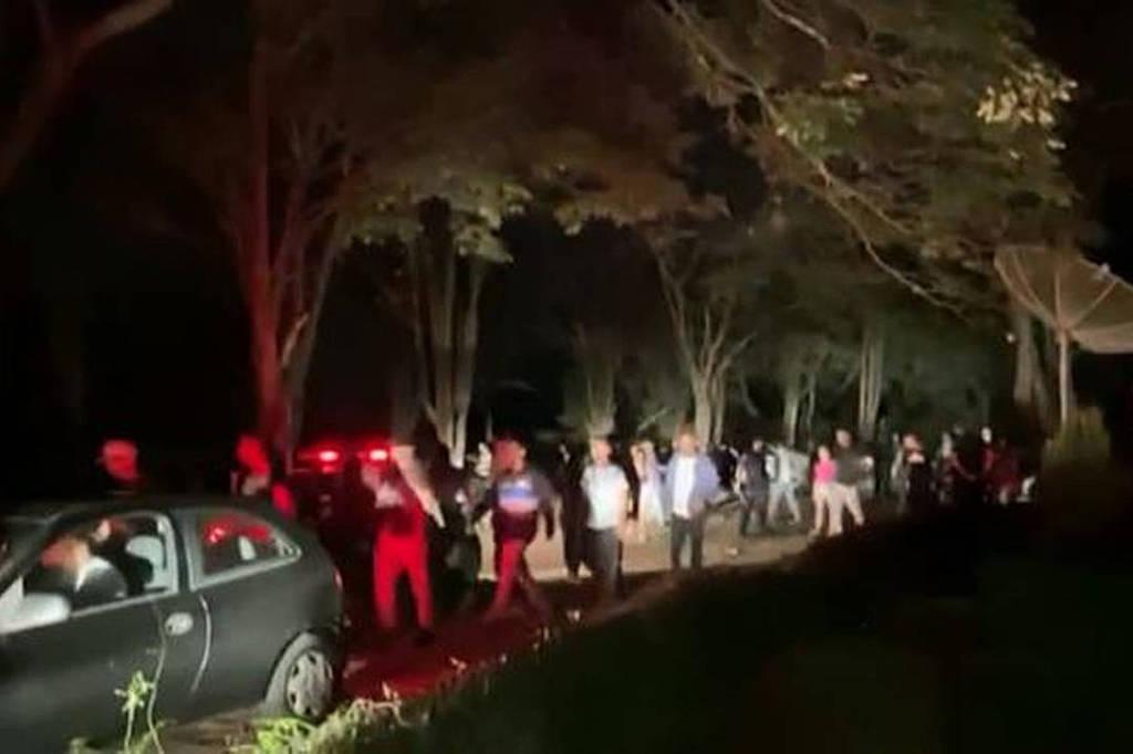 A operação termina com uma festa secreta com quase mil pessoas em Sorocaba 11/11/2020 - São Paulo