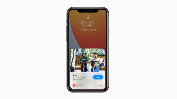iOS 14: clipes de aplicativos projetados pela empresa para serem rápidos e fáceis de usar, permitindo que os usuários usem o aplicativo quando necessário - Detecção - Detecção
