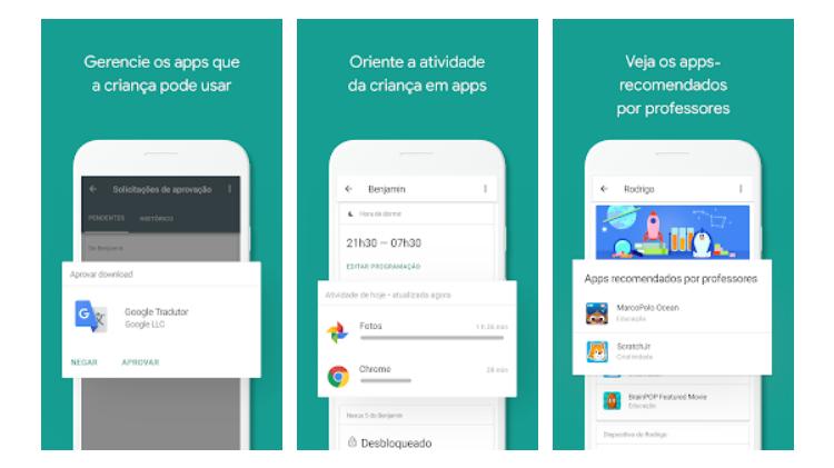Faça o download desses aplicativos - Google Family Link - Discovery - Discovery
