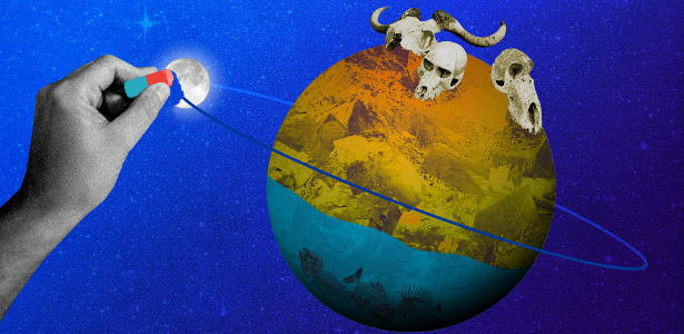 E se a lua desaparecesse? Os poetas não sofreriam apenas - 30.06.2020