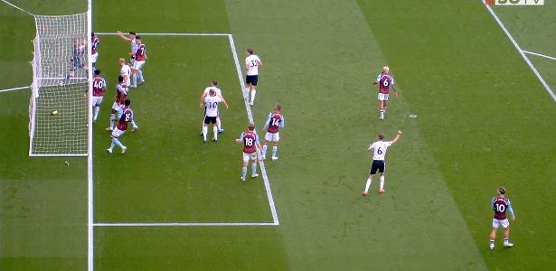 Esse era o objetivo ou não? Entenda o erro tecnológico do jogo Sheffield x Aston Villa - 19.06.2020
