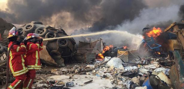 A explosão em Beirute, Líbano, está causando pânico e ferimentos; Assista o vídeo