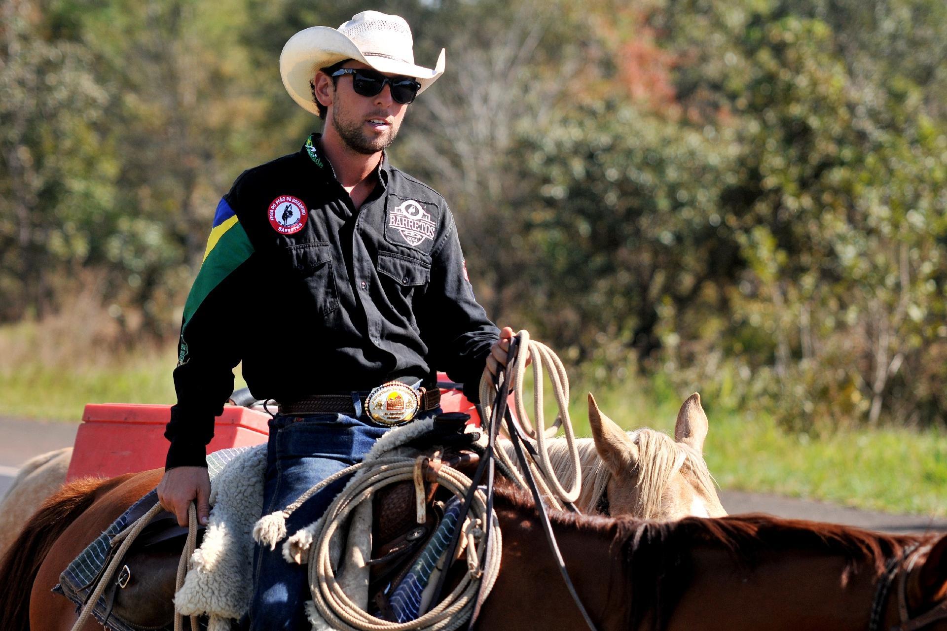 Filipe Masetti Leite, o primeiro brasileiro a viajar pela América a cavalo - Arquivo Pessoal